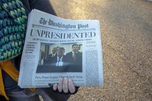 Trump resigns, worldwide celebrations