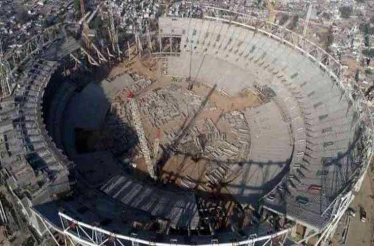 world's largest cricket stadium gujrat