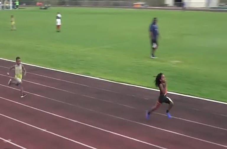 Rudolph 'Blaze' Ingram fastest runner