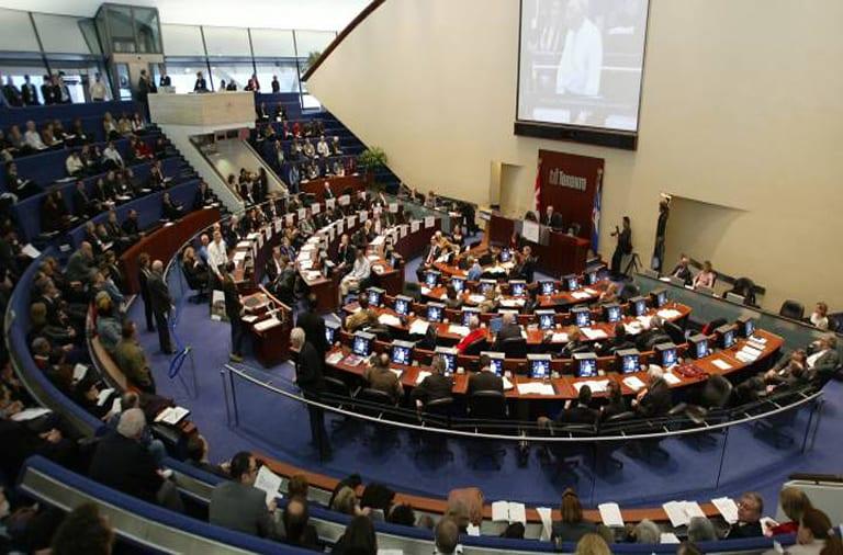 Toronto city council budget